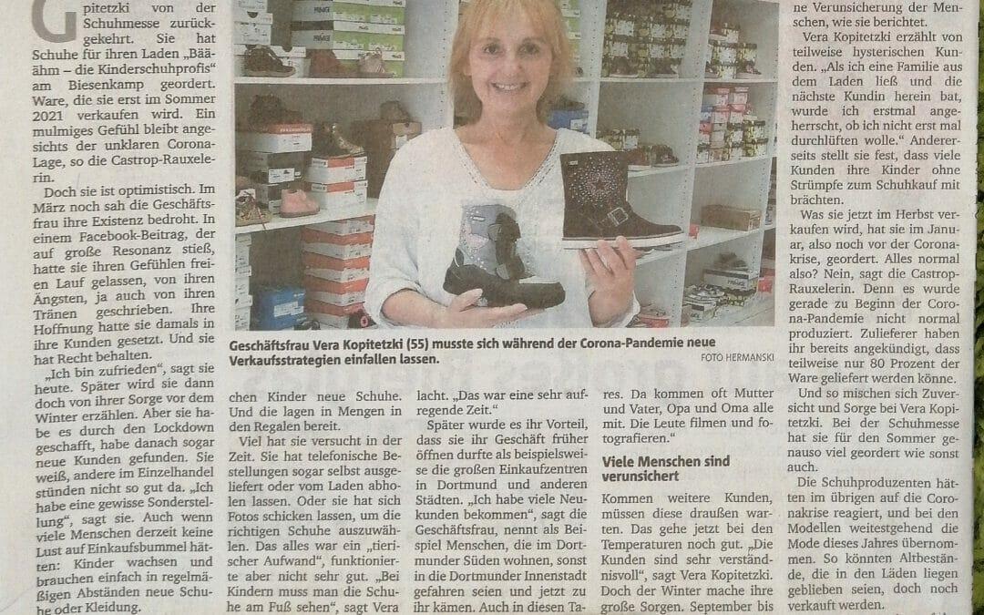 Danke Ruhrnachrichten für den tollen Bericht